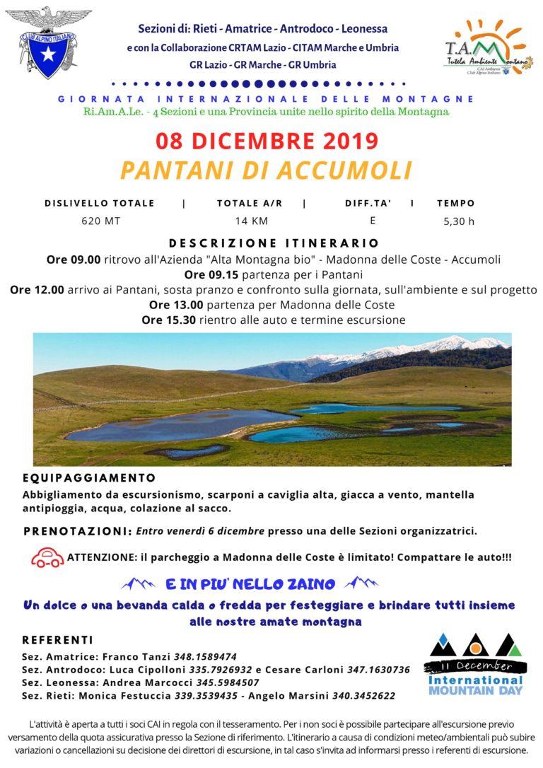 8 dicembre Manifestazione Pantani di Accumoli
