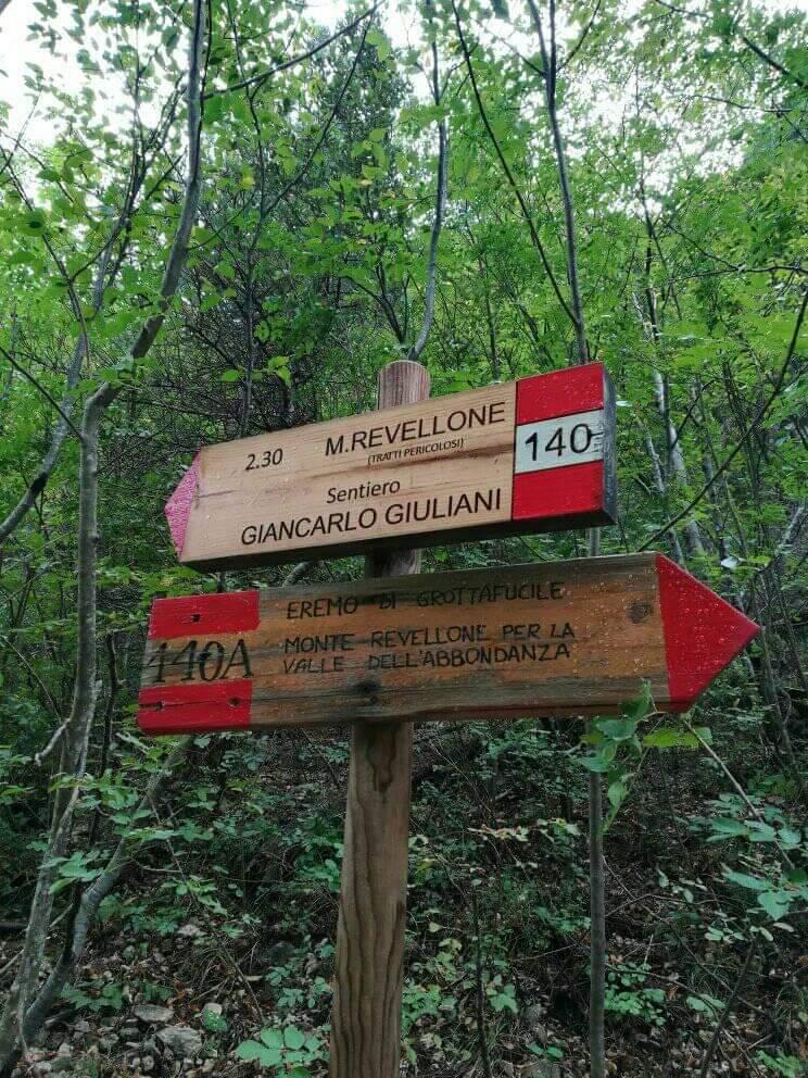30/08/2020 Raduno Regionale – Inagurazione sentiero GIANCARLO GIULIANI